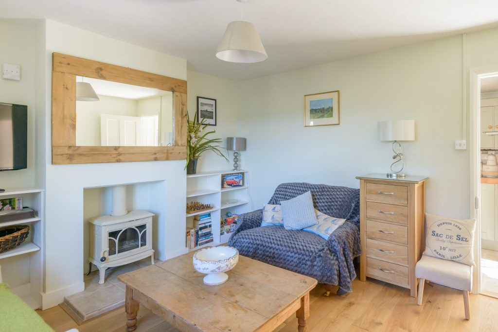The Living Room at Crincle Cottage, Horsey