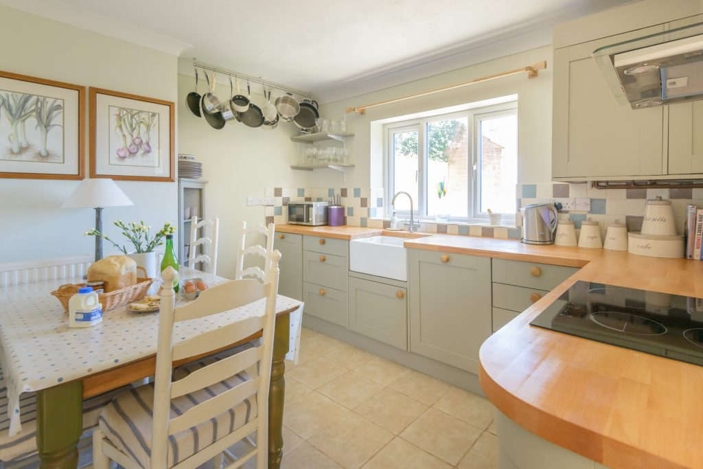 The Kitchen at Crincle Cottage, Horsey