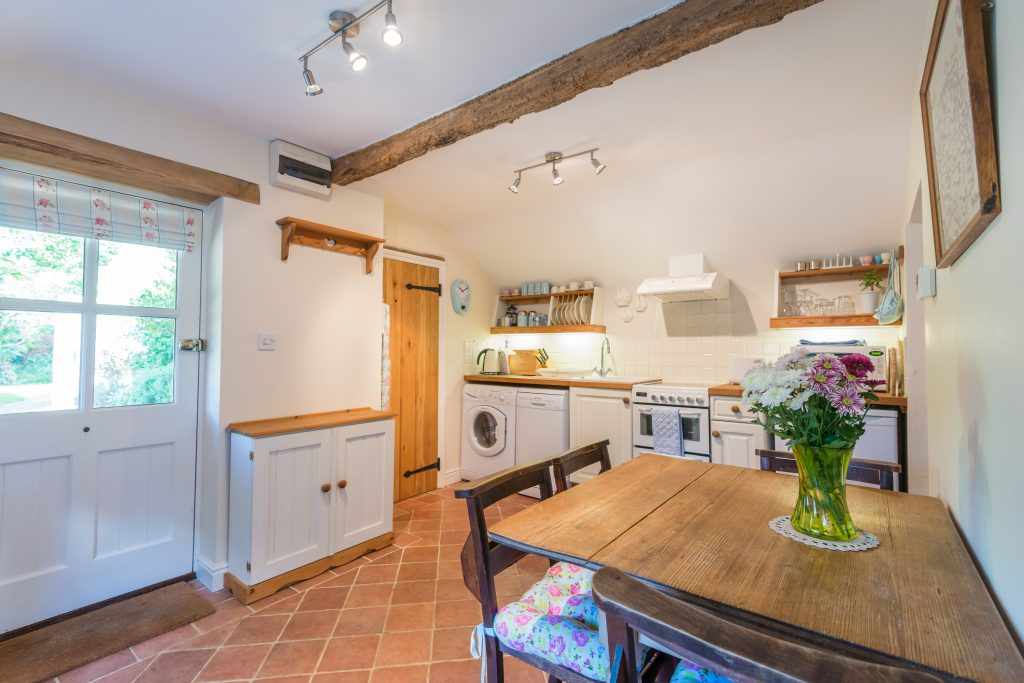 The kitchen at Neaps in Hickling