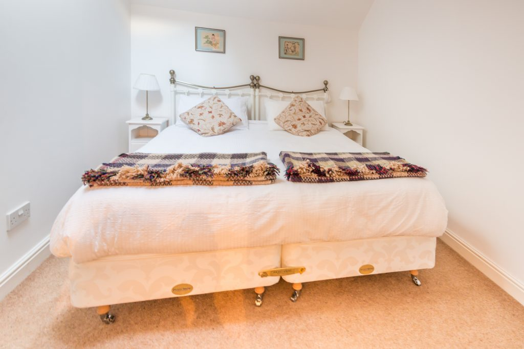 Bedroom at Neaps in Hickling