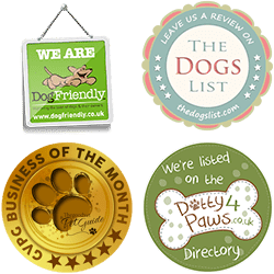 The Good Vet and Pet Guide Gold Badge